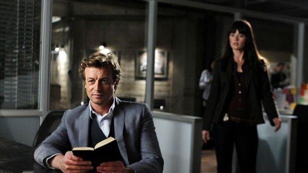 The Mentalist - Ein neuer Fall beschäftigt Patrick Jane (Simon Baker) und Ter...